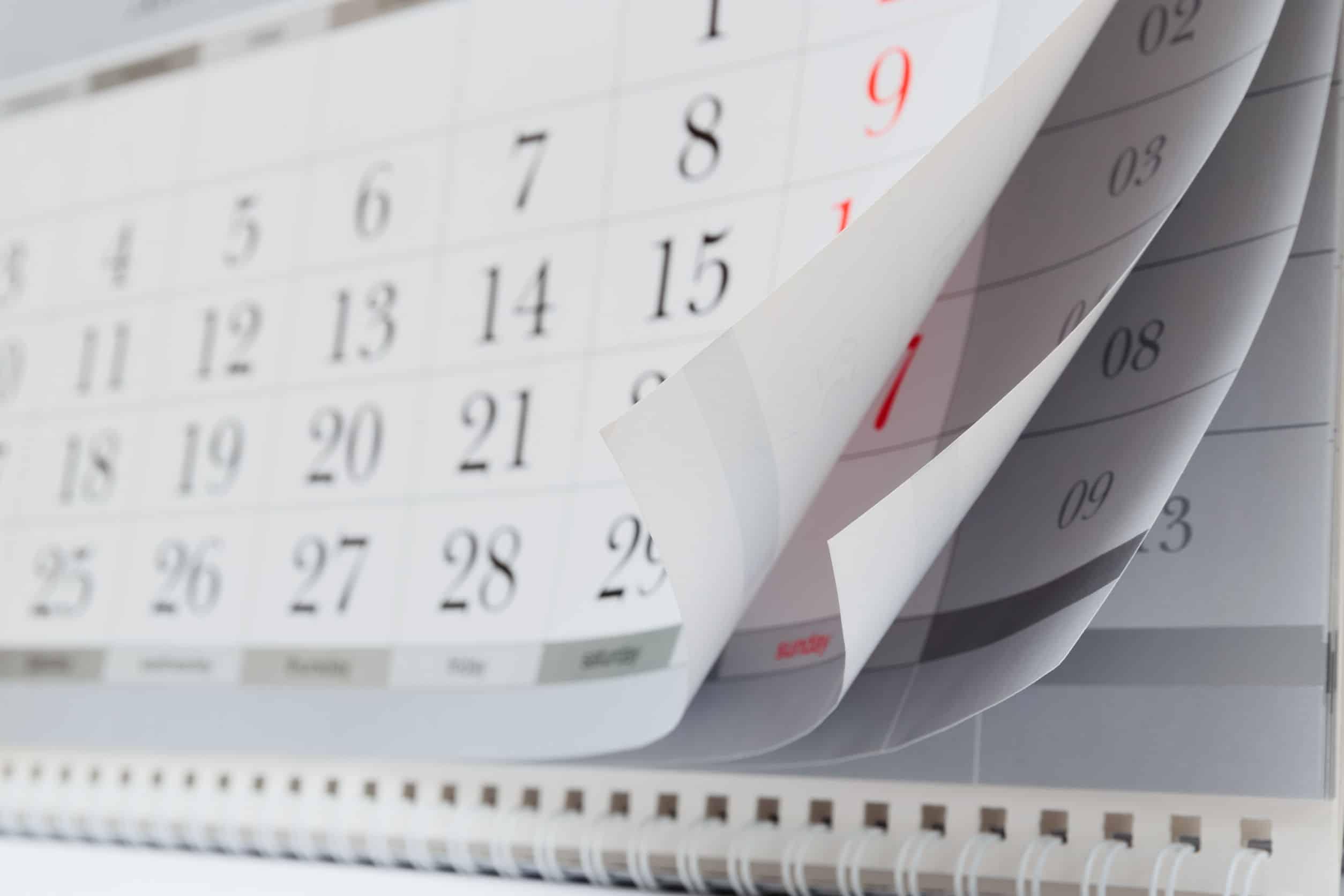 Calendario: ¿Cuál es el mejor del 2021?