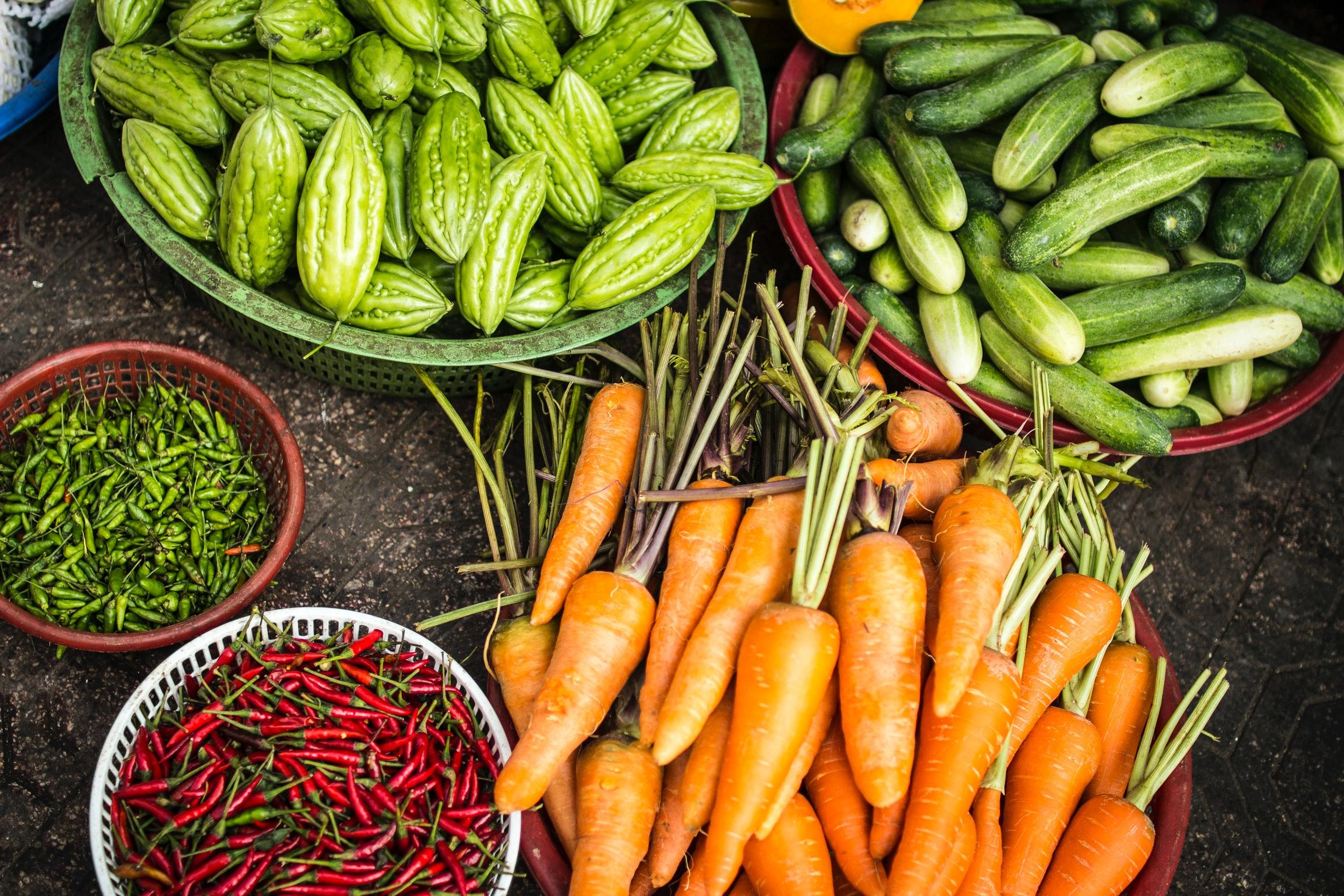 verduras de invernadero