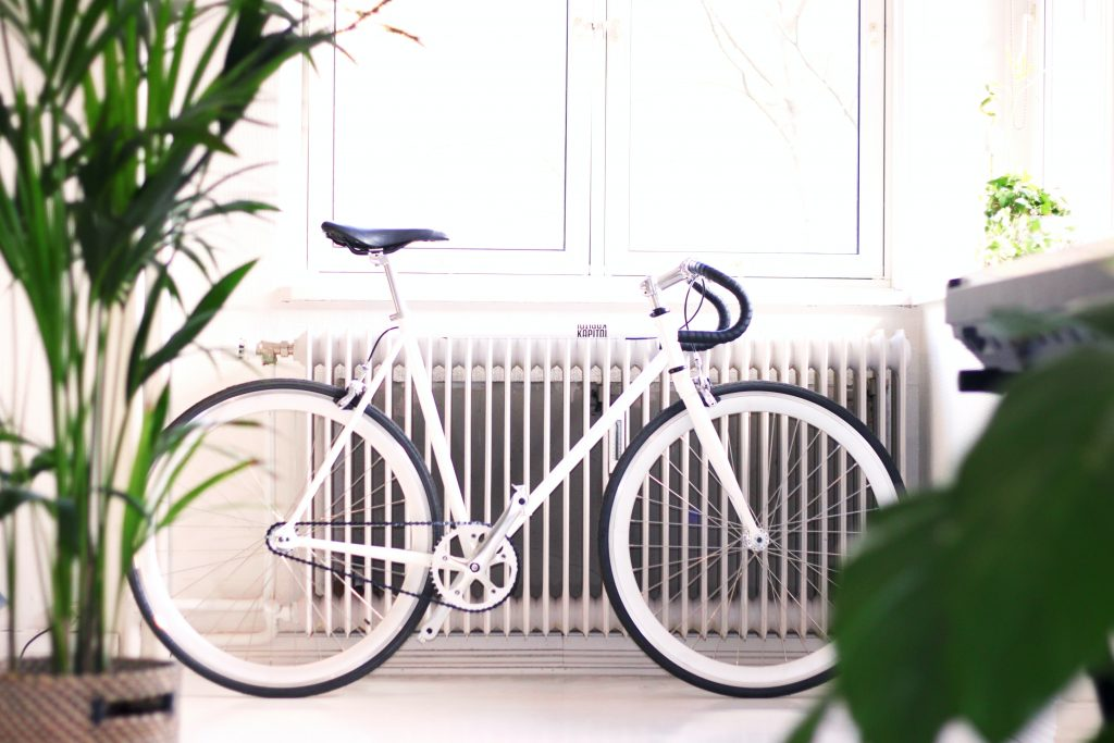 bicicleta radiador