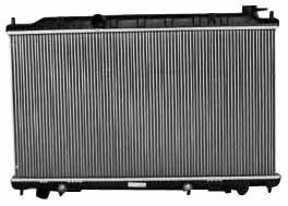 TYC 2414 - Radiador de repuesto de aluminio de plástico Nissan Altima de 1 fila