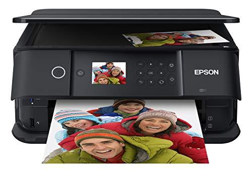 Epson Expression Premium XP-6100 - Impresora fotográfica inalámbrica a Color con escáner y copiadora, Color Negro, tamaño Mediano