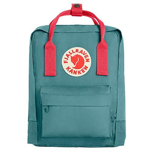Fjallraven Kanken Mini Daypack, Frost Green/Peach Pink