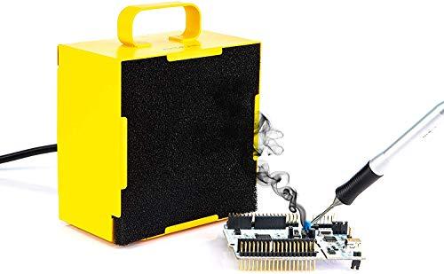 KOTTO - Extractor de humos para soldadura, extractor de humos, extractor de humos, extractor de humos, ventilador de trabajo para estación de soldadura