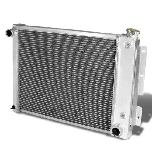 DNA Motoring RA-CAMARO68-3 Radiador de carreras de aluminio, metálico