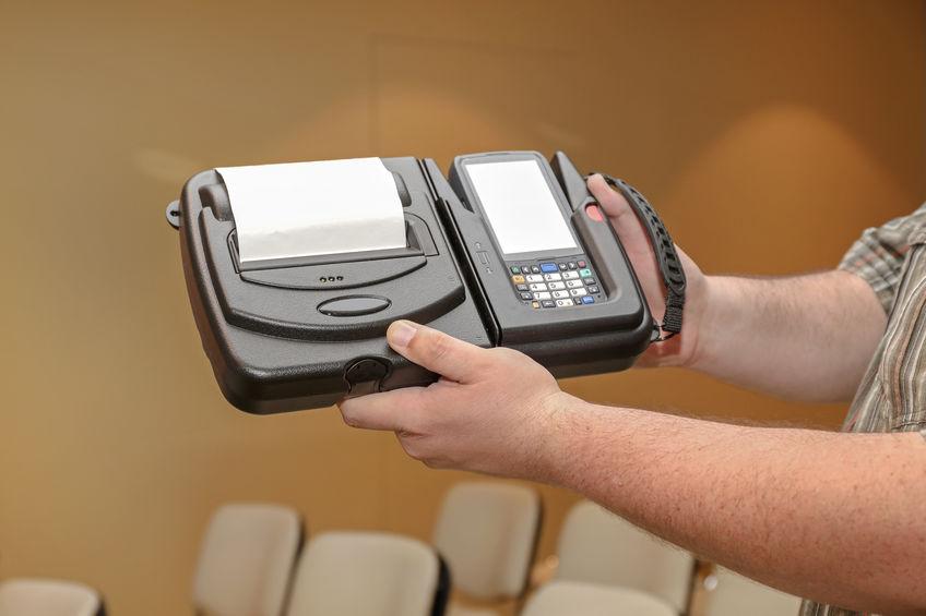 impresora y maquina de recibos