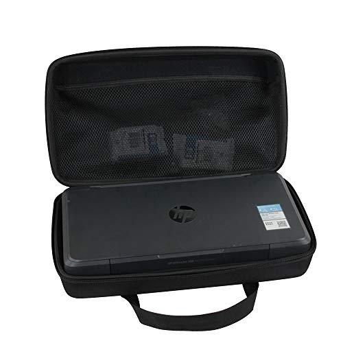 Hermitshell Funda de viaje rígida EVA para impresora portátil HP OfficeJet 200, impresión inalámbrica y móvil (CZ993A)