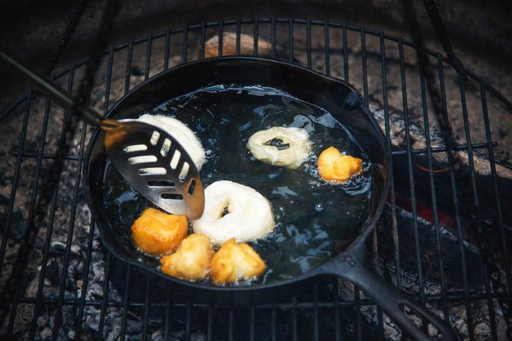 Buñuelos fritos