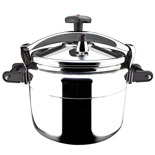 Magefesa Olla de Presión Chef 15, Aluminio Profesional, 15 litros, plata