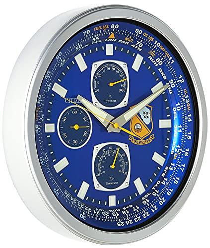 CITIZEN CC2030 Gallery - Reloj de Pared, Color Plateado