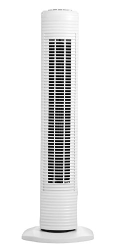 HOLMES htf3110a 78.7cm Ventilador de Torre oscilante, Blanco, 1, 1