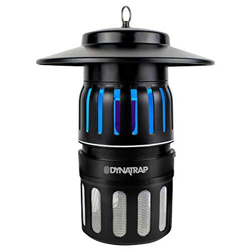 DynaTrap Trampa para Insectos al Aire Libre con luz UV Repelente de Mosquitos, Negro, Negro, 1.3 kg