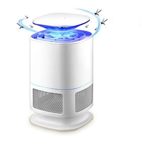 GuDoQi Lámpara Mata Mosquitos, UV LED Lámpara Antimosquitos, Eléctrica Repelente para Mosquitos, USB Bug Zapper Lámpara Trampa para Mosquitos, Moscas, Insectos, Polillas
