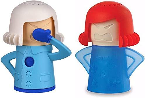 Anytec Angry Mama - Juego de utensilios de limpieza para nevera, microondas