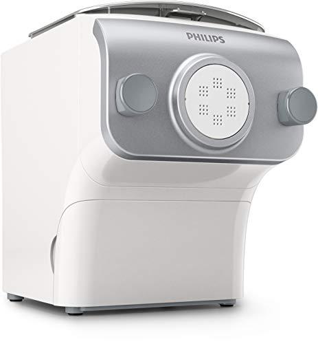 Philips Kitchen Appliances HR2375/06 - Máquina para hacer pasta (tamaño grande), color blanco