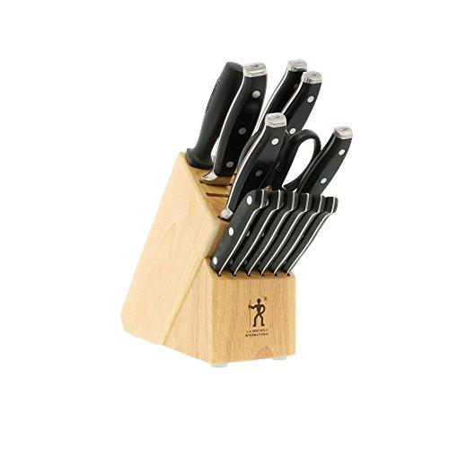 HENCKELS J.A - Juego de cuchillos (14 unidades), color negro