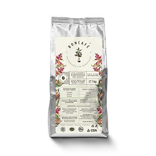 Boncafé, café de especialidad en grano entero y tostado, gourmet de estricta altura 100% arábica, 100% mexicano